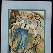 SOLD Winsch 1908 Schmucker Valentines Day Postcard