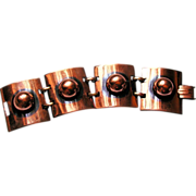 REDUCED Copper Tortolani Crislu Copper Wide Heavy Link Bracelet