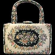 Vintage Waldman Tapestry Handbag