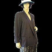 SALE Jil Sander Double Breasted Wool Blazer M/L