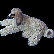 "Afghan hound Basil Matthews 7"""