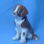 """Saint Bernard puppy Bing & Grondahl Denmark  6"""""""