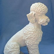 SALE 1950s Poodle Kaiser Germany 8""