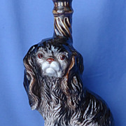 """Cavalier King Charles bottle from Italy 10"""""""