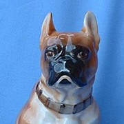 "SALE vintage quality porcelain French Bulldog 10"""