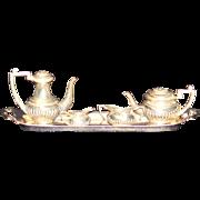 Miniature Sterling Tea Set Birmingham England