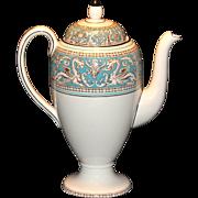 Wedgwood Florentine Coffee Pot