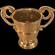 Irish Sterling Silver (Dublin 1919) Golf Trophy - Royal Portrush