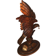 Black Forest Eagle Pocket Watch Holder
