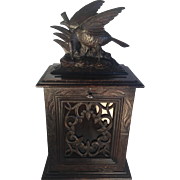 Black Forest Postal Box with Working Lock