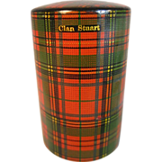 SOLD Bottle in Tartan Case - Clan Stuart