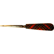 SOLD Tartan Ware Stiletto - McDuff