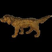 SALE Austrian Bronze Dog Figure