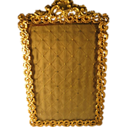 SOLD French Gilded Brass Frame