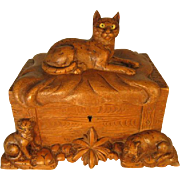 Black Forest Box of Cats and Kittens.