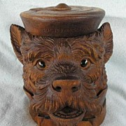 REDUCED Black Forest Dog Humidor - St. Blasien