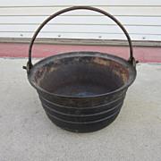 French Antique Pot French Antique Cast Iron Pot