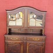 French Antique Hutch Sideboard Server Cabinet Antique Furniture