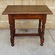 Antique Spanish Table Antique Library Table Kitchen Table Antique Desk