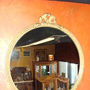 Carved American Wall Mirror
