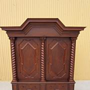 German Antique Armoire Wardrobe Linen Cabinet Antique Furniture