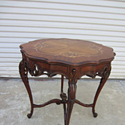 Antique Side Table Lamp Stand Parlor Table Antique Furniture