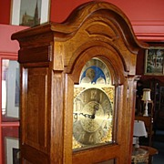Beautiful Large German Grandfather Clock