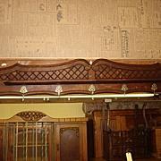 Original French Wall Rack Coat Hanger Hat Rack Wall Shelf