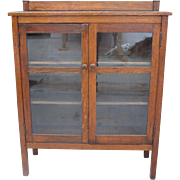 American Antique Bookcase Antique Arts and Crafts Furniture Mission Antique Furniture