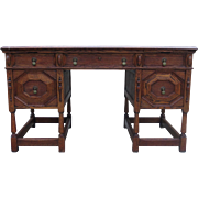 French Antique Desk Antique Executive Desk Antique Office Furniture