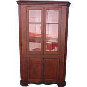 American Antique Corner Cabinet Antique Cabinet Antique Furniture