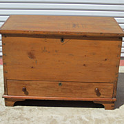 American Antique Chest Blanket Chest Trunk Antique Furniture