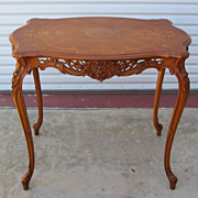 French Provencal Side Table Lamp Table Sofa Table Stand Furniture