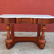 American Antique Console Table Sofa Table Hall Table Antique Furniture