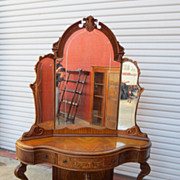 American Antique Vanity Dresser Antique Bedroom Furniture