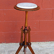 American Antique Candle Stand East Lake Victorian Furniture Pedestal