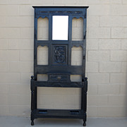 English Antique Hall Tree Hat Rack Hall Stand Antique Furniture