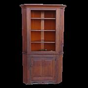 American Antique Corner Cabinet Antique Furniture