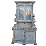 French Antique Hutch Antique Cabinet Antique Furniture