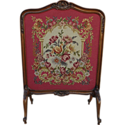 Antique Fireplace Screen Antique French Tapestry Screen Antique Fireplace Accessories