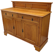 Antique Sideboard Antique Server American Antique Cabinet Antique Furniture