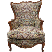 French Antique Wing Back Chair Antique Arm Chair Antique Furniture