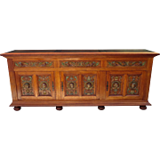 Spanish Antique Sideboard Antique Cabinet Antique Cupboard Antique Furniture