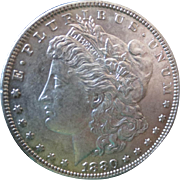 Morgan Silver Dollar 1880 (O) VG