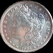Morgan Silver Dollar 1904 (O) EF