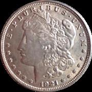 Morgan Silver Dollar 1921 VF