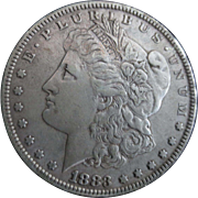 Morgan Silver Dollar 1883 (XF)