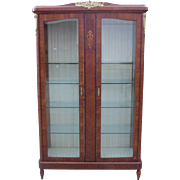 French Antique Display Cabinet French Antique China Cabinet French Antique Furniture