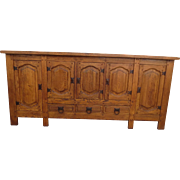 French Antique Server Antique Cabinet Antique Sideboard Rustic Antique Furniture