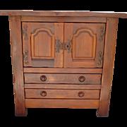 French Antique Cabinet Antique Rustic Furniture Cupboard Antique Furniture